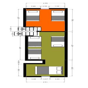 Apartmány - podkroví